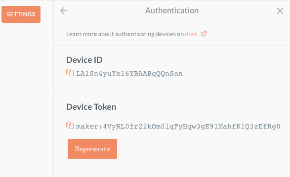 Device ID and Token